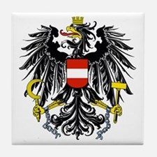 Austria Coat of Arms Tile Coaster