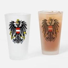 Austria Coat of Arms Drinking Glass