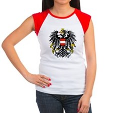 Austria Coat of Arms Women's Cap Sleeve T-Shirt