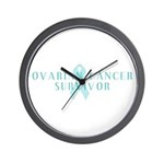 OVARIAN CANCER SURVIVOR Wall Clock