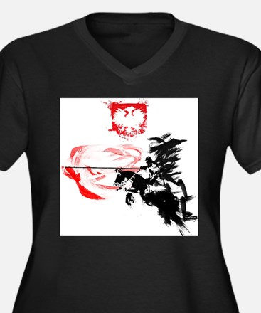 Polish Hussar Plus Size T-Shirt