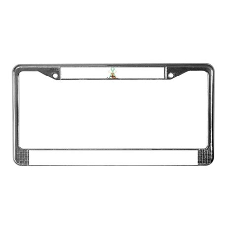 Celiac Disease License Plate Frame