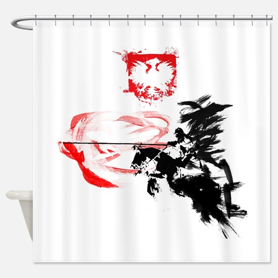 Polish Hussar Shower Curtain