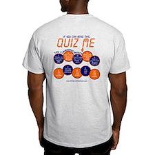"""""""Quiz Me! Ten Commandments"""" T-Shirt"""