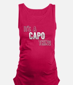 Its A Capo Thing Maternity Tank Top