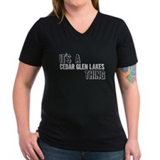 Its A Cedar Glen Lakes Thing T-Shirt