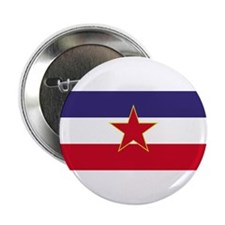 Yugoslavia Flag Button