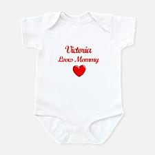 Victoria Loves Mommy Infant Bodysuit