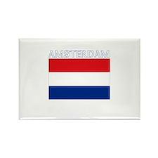 Amsterdam, Netherlands Rectangle Magnet