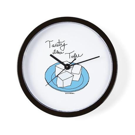Tasty Tofu Wall Clock