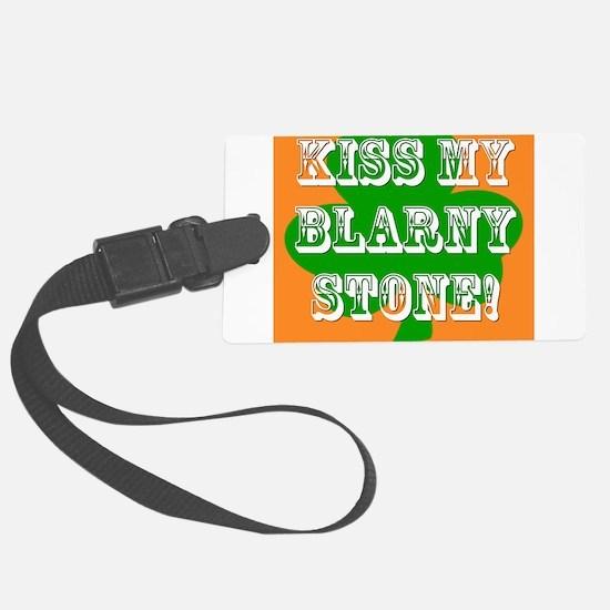 Kiss My Blarney Stone! Luggage Tag