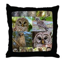 2014 OwlWatch Montage Throw Pillow