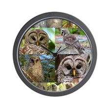 2014 OwlWatch Montage Wall Clock