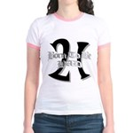Born To Be 21 Jr. Ringer T-Shirt