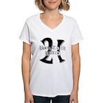 Born To Be 21 Women's V-Neck T-Shirt