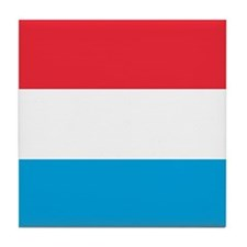 Flag of Luxembourg Tile Coaster