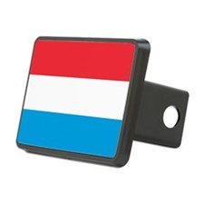 Flag Of Luxembourg Hitch Cover