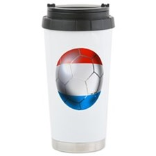 Luxembourg Football Travel Mug