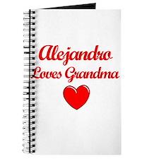 Alejandro Loves Grandma Journal