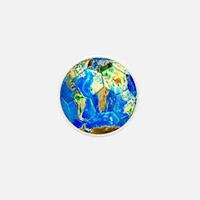 World Soccer Ball Mini Button