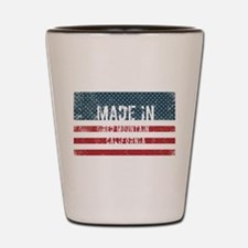 Made in Red Mountain, California Shot Glass