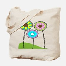 ONCOLOGY NURSE FLOWERS 2 Tote Bag