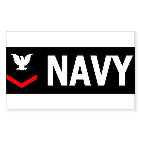 Navy-PO3-Bumpersticker-2 Sticker