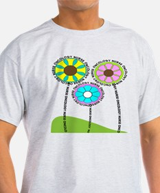 ONCOLOGY NURSE FLOWERS 2 T-Shirt