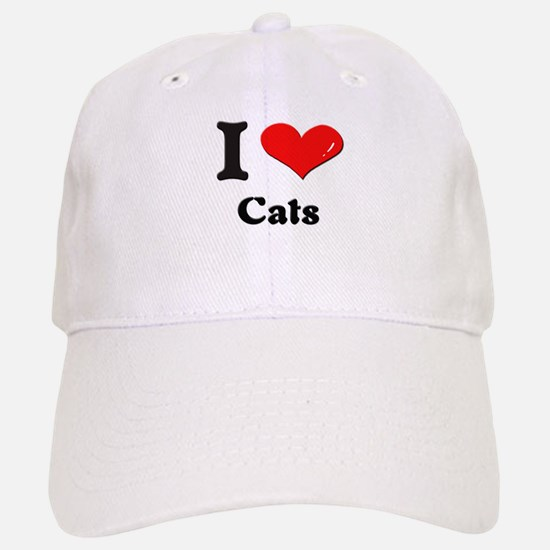 I love cats Hat