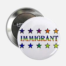 Rainbow Immigrant Button