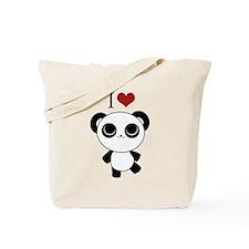 I love panda Tote Bag