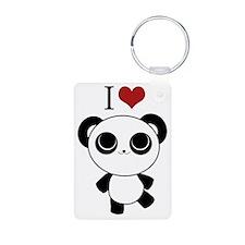I love panda Keychains