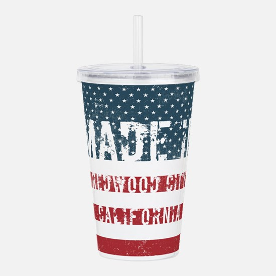 Made in Redwood City, Acrylic Double-wall Tumbler