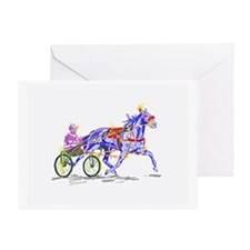 Silks and Road dust Greeting Card
