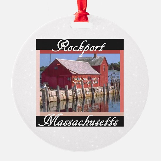 Cute Rockport Ornament