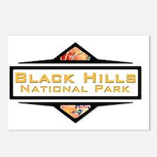 Black Hills orange Postcards (Package of 8)