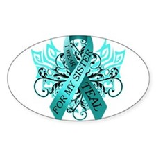 Cute Hope survivor cervical supporting fighter Decal