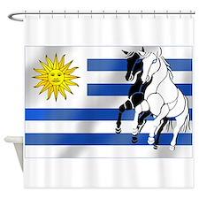 Uruguay Stallion Shower Curtain
