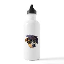 Graduate Dog Water Bottle