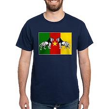 Cameroon Lions Flag T-Shirt