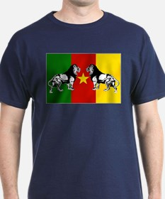 Cameroon Lions Flag T-Shirt