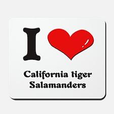 I love california tiger salamanders  Mousepad