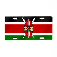 Harambee Flag Kenya Aluminum License Plate