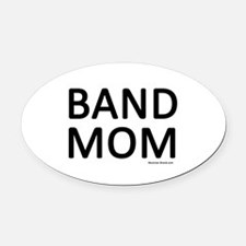 Band Mom Oval Car Magnet