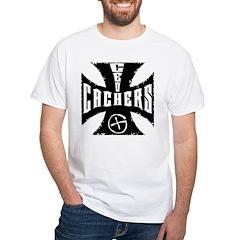 Maltese Cross White T-Shirt