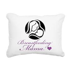 Breastfeeding Mama Rectangular Canvas Pillow