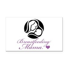 Breastfeeding Mama Rectangle Car Magnet