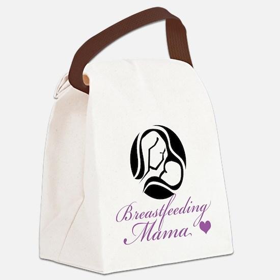 Breastfeeding Mama Canvas Lunch Bag