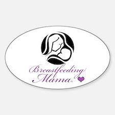 Breastfeeding Mama Sticker (Oval)
