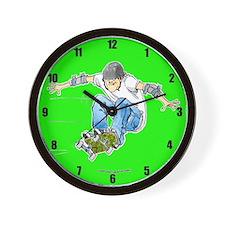 SkateboardingWall Clock